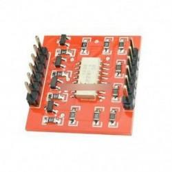 4-csatornás opto-leválasztó IC modul Arduino magas és alacsony szintű bővítő kártya