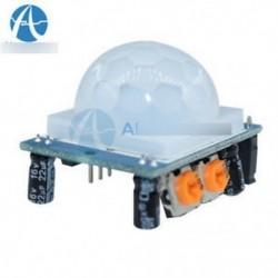 IR-piroelektromos infravörös IR PIR mozgásérzékelő modul HC-SR501 beállítása