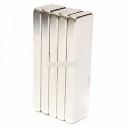 NdFeB mágnesek 40x10x4mm Ritka Föld neodímium N52