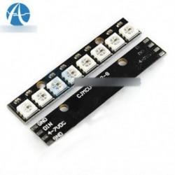 Fekete 8-csatornás WS2812 5050 RGB 8 LED-es fényvezető kártya Arduino