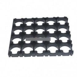 2db 4x5 cellás 18650 akkumulátorok Spacer sugárzó Shell műanyag hőhordozó tartó