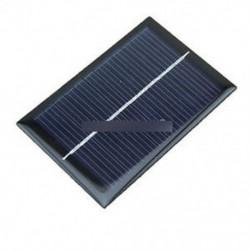 6 V 100 mA 0,6 W-os napelem - 0,5V / 6V 0.6W / 1W 100mA Epoxi napelem modul modulcellás fotovoltaikus akkumulátor töltő