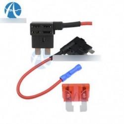 12V-os gépkocsi-kiegészítő áramkör Biztosíték TAP-adapter Standard ATM APM automatikus pengék biztosítéktartója