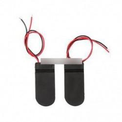 5db CR2032 gomb érme cellás akkumulátor foglalat tok W burkolat