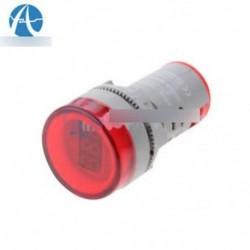 22MM AC60-500V LED feszültségmérő feszültségmérő jelzőfény Új DIY Red