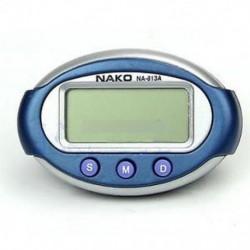 3 Gombok Smart Mini digitális óra hordozható autó automatikus műszerfal LCD kijelző
