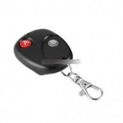 RF távirányító kulcstartó kapu ajtó adó vezeték nélküli 433 MHz DC 12V
