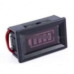 12V ACID ólom akkumulátorok jelzőfénye kapacitás LED Tester Digitális feszültségmérő