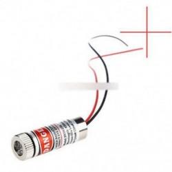 Piros keresztvonalú lézeres fókuszálható 5 mW 650nm-es fókusz állítható lézerfej M138