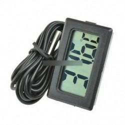 T110 TPM-10 digitális hőmérő hőmérsékletmérő 2 m-es szondával -50 ° C és 70 ° C között