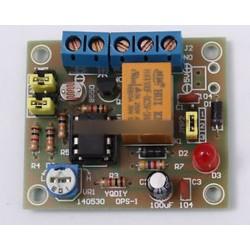Könnyű működtetésű kapcsolóészlet DIY készlet 5V relével LM393 elektronikus vicces DIY Új