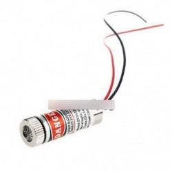 650 nm-es 5 mW piros lézervonal modul fókuszban állítható lézerfej 5V lézer modul