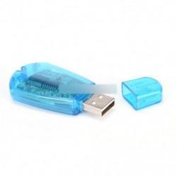 USB mobiltelefon szabványos SIM-kártyaolvasó Másolja a Cloner Writer SMS-mentést GSM / CDMA