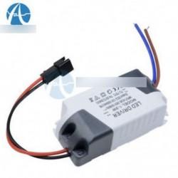 2db 3X1W AC 85V-265V és DC 12V LED-es elektronikus transzformátor tápegység-meghajtó