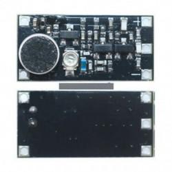 FM-adó modul vezeték nélküli mikrofon Felügyeleti frekvencia 88-108MHz Top