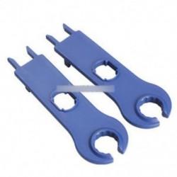 MC4 csavarkulcs - 1Pair 2db MC4 Y / T típusú napelemes adapter férfi női kábel csatlakozó kulcs