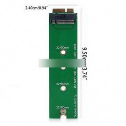 M.2 NGFF SSD A 18 tűs Adapter kártya SSD Az Asus UX31 UX21 Zenbook laptop SSD