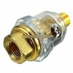 """1/4 """"BSP Mini In-Line Oiler kenőanyag pneumatikus szerszám és légkompresszor csövekhez"""