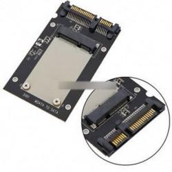 """Fekete Mini Pcie PCI-E SSD mSATA - 2,5 """"SATA3 konverter mSATA-SATA adapterkártya"""