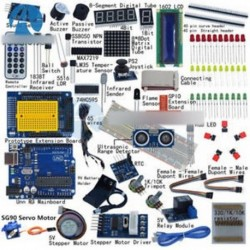 Ultimate UNO R3 indító készlet Arduino 1602 LCD szervo motor relé RTC LED-hez