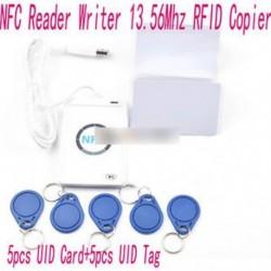 ACR122u NFC olvasó és író 13.56MHz RFID másológép   5db UID kártyák   címkék