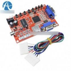 Tartós VGA az RGBS / CGA / AV / S-Video átalakító táblához Arcade Game Multicode   Wire