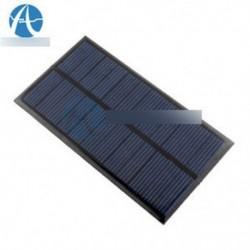 Új 6V-os, 1W-os napelemes modul DIY könnyű akkumulátor-cellás játékok töltőkhöz