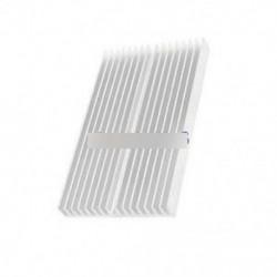 Hűtőborda 100X60X10mm IC hűtőborda alumínium hűtés Fin CPU LED teljesítményre