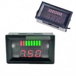 36V-os LED-es kijelző akkumulátor kapacitása Tester Voltmeter Ólom-sav Lítium Vörös