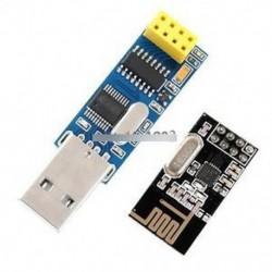 Új CH340T USB-soros portadapter-kártya   2.4G NRF24L01   vezeték nélküli modul