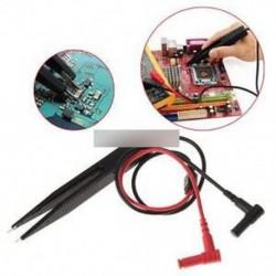 SMD induktivitás tesztcsipesz csipesz az ellenállás multiméter kondenzátorhoz
