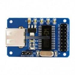 CH375B U-DISK Read Write modul USB interfész kommunikáció SPI interfész Új