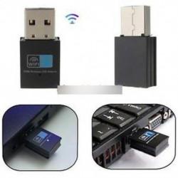 300Mbps vezeték nélküli USB Wifi adapter LAN antenna hálózati adapter 802.11n / g / b BIUS