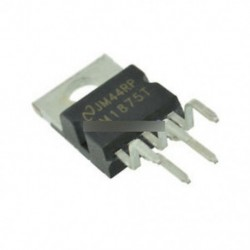 10PCS IC LM1875T AMP AUDIO PWR 30W AB TO220-5 ÚJ