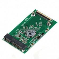"""Mini mSATA PCI-E 1.8 """"SSD-40-es ZIF CE kábeladapter-átalakító kártya"""