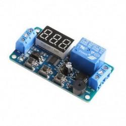 Programozható időkapcsoló modul panel 12V LED-es kijelzővel