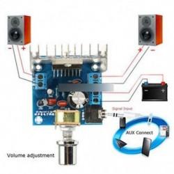 AC / DC 12V TDA7297 2x15W digitális hangerősítő DIY készlet Dual-Channel modul