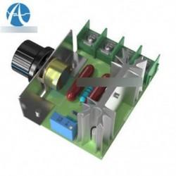 2Pcs 220V 2000W fordulatszám-szabályozó SCR feszültségszabályozó dimmer termosztát