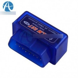 Kék - Mini ELM327 V2.1 OBD2 II Bluetooth diagnosztikai autó automatikus interfész szkenner