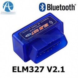Mini ELM327 V2.1 OBD2 ODBII Bluetooth diagnosztikai autós autós interfész szkenner