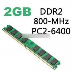 2 GB DDR2 800MHZ PC2-6400 240PIN memória RAM AMD CPU alaplap asztali számítógéphez