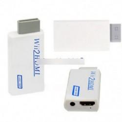 Wii2HDMI átalakító Wii-HDMI adapter HDMI Audio 1080P 720P NTSC 480i 480p-hez