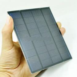 Mini 9V 1,5 W napkollektoros napelemes tápegység DIY a mobiltelefon töltőhöz