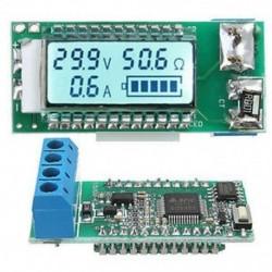 18650 26650 digitális lítium-ion akkumulátor mérő mérő feszültség / amper / ohm / kapacitás