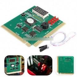 Digitális LED 4 elemző diagnosztikai tesztelő POST kártya PCI PC Analyzer alaplap