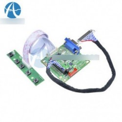 DIY MT561-B univerzális LCD LVDS illesztőprogramvezérlő kártya 17 kábellel