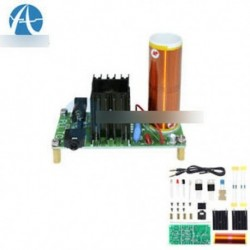 15W DIY Mini Tesla tekercs plazma hangszóró Elektronikus terepi zene projekt részei