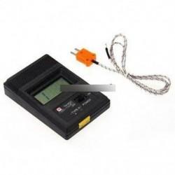 TM902C digitális LCD hőmérő hőmérséklet-olvasó mérő érzékelő K típus szonda