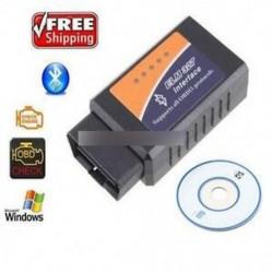 OBD2 II ELM327 V1.5 Auto MINI Bluetooth diagnosztikai szkenner eszköz autó 12V-hoz