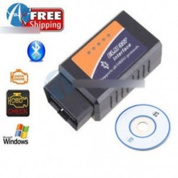 ELM327 V1.5 Bluetooth interfész OBDII OBD2 USB diagnosztikai automatikus autóolvasó vizsgálat
